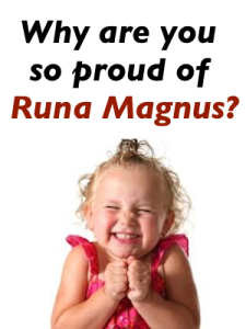 WE are so proud of Runa Magnus